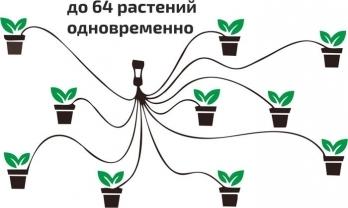 Набор капельного полива Green Helper GN-023N до 64 растений