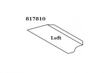 Резец токарный ручной косой (левый) Narex, форма лезвия