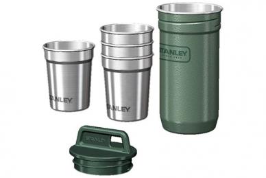 Набор Adventure, стопки и стакан-контейнер Stanley