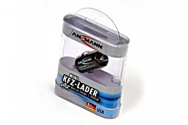 Адаптер для телефонов и планшетов 1000-0003 USB CarCharger, Ansman