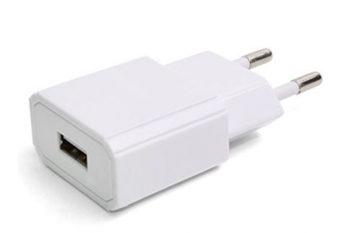 Сетевой адаптер USB1000 white 1000 mA, Robiton