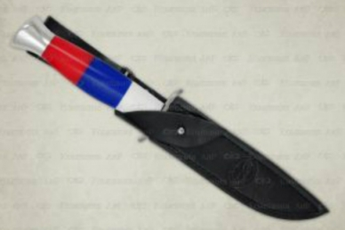 Нож Финка-2 АиР (Златоуст), Россия, оргстекло, ножны