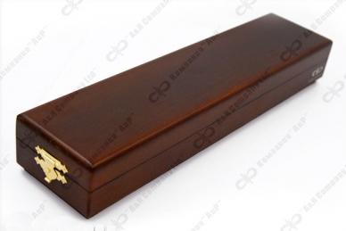 Нож Финка Пограничные войска модель 22080, АиР, Россия, деревянный футляр