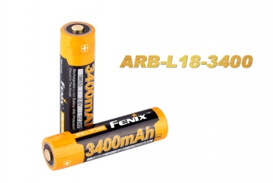 Аккумулятор Li-ion 18650 (3,6 В; 3400 мАч) ARB-L18-3400 Fenix