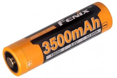 Аккумулятор Li-ion 18650 (3,6 В; 3500 мАч) ARB-L18-3500 Fenix