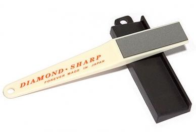 Алмазная точилка для керамических ножей с держателем угла заточки Forever D-3