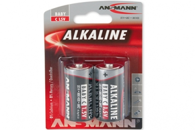 Батарейка тип C Red 1513-0000 LR14, Ansmann