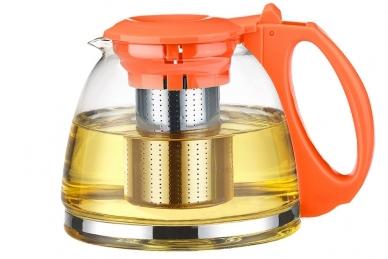 """Чайник """"ГОДЖИ"""" оранжевый 1100 мл TimA"""