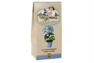 Августина для пролонгированного питания растений
