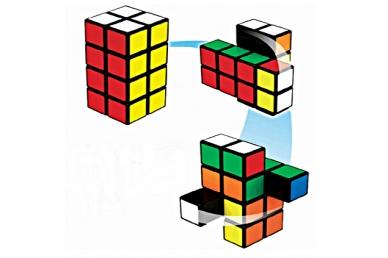 Rubik's, башня Рубика 2x2x4