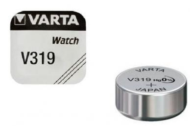 Батарейка серебряно-цинковая часовая 319, Varta