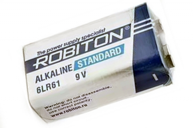 Батарейка Standard 6LR61 9V SR1, Robiton