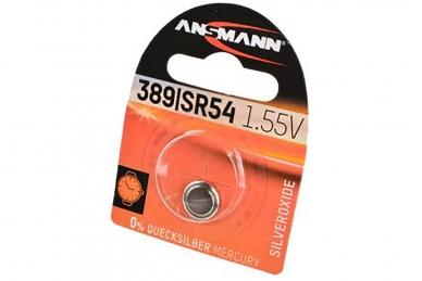 Батарейка серебряно-цинковая часовая 1516-0015 389/SR54 1 шт., Ansmann, Германия