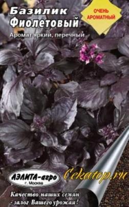 Базилик Фиолетовый семена