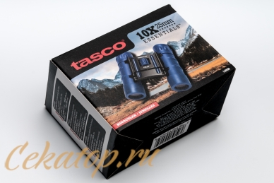 Бинокль Essentials (Roof, blue) 10x25 Tasco, упаковка