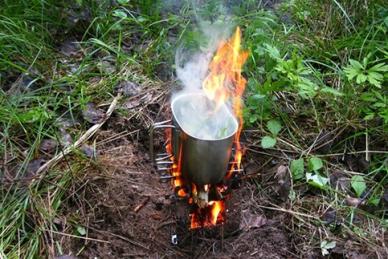 Печка-щепочница Биохит Т15