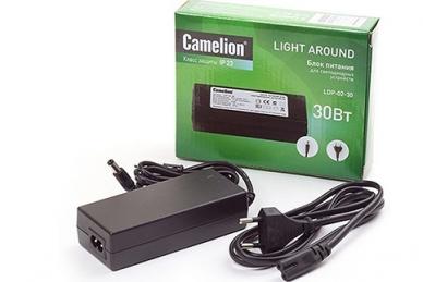 Блок питания для светодиодных лент LDP-02-30 Camelion