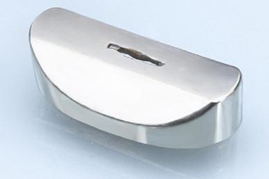 Больстер для рукояти ножа глянцевый 637 (мельхиор)
