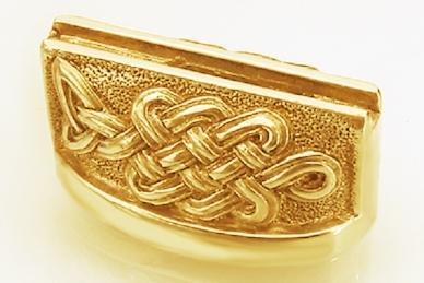 Больстер для рукояти ножа «Кельтский орнамент» 616 (латунь)