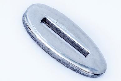 Больстер для рукояти ножа глянцевый узкий 621 (мельхиор)