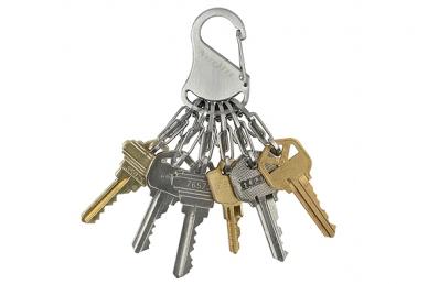 Брелок для ключей S-Biner (stainless) Nite Ize