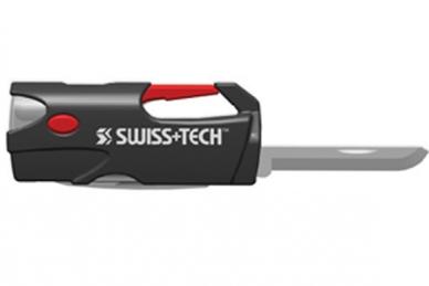 Микро набор инструментов Carabiner Multi Tool 6 в 1 Swiss+Tech, нож