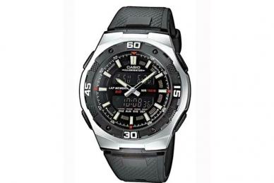 Часы наручные Casio Collection AQ-164W-1A в корпусе из полимера и стали