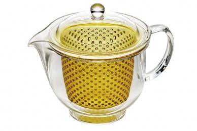 Чайник заварочный ударопрочный 0.73 л (золотой) Akebono