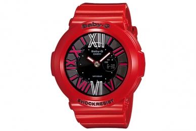 Женские часы Casio BGA-160-4B Мужские часы Aerowatch 84936NO03