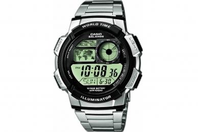 Часы наручные Casio Collection AE-1000WD-1A стальной браслет