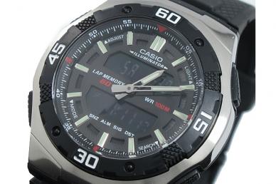 Часы наручные Casio Collection AQ-164W-1A в корпусе из полимера