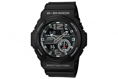 Часы Casio G-Shock GA-310-1A противоударные и водонепроницаемые, с защитой от во