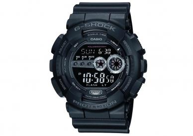 Часы Casio G-Shock GD-100-1В противоударные и водонепроницаемые