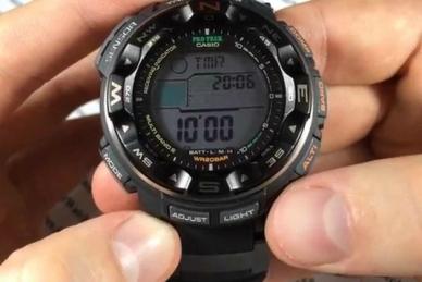 Часы Casio PRO TREK PRW-2500-1E