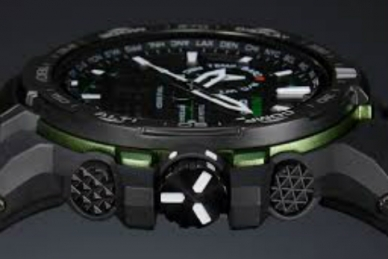 Часы Casio PRO TREK PRW-6000-1E в корпусе из пластика
