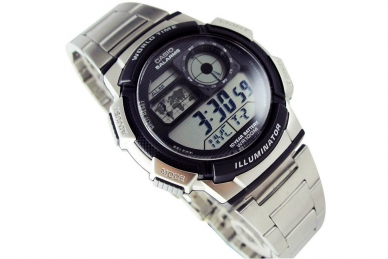 Часы Casio Collection AE-1000WD-1A стальной браслет