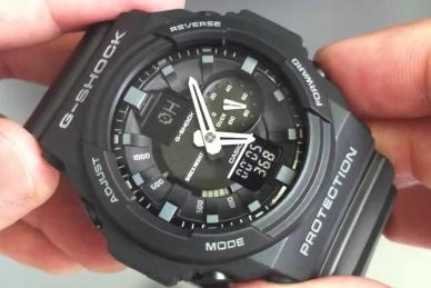 Часы противоударные и водонепроницаемые Casio G-Shock GA-300-1A