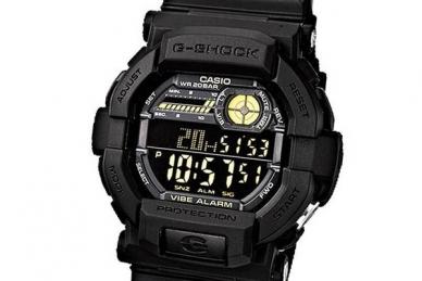 Часы G-Shock GD 350 1B японской компании Casio