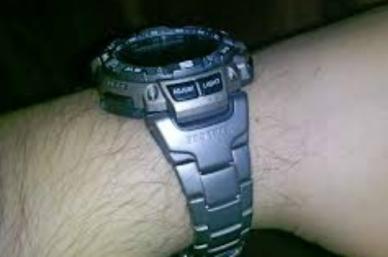 Часы Casio PRO TREK PRG-240Т-7E браслет из титанового сплава