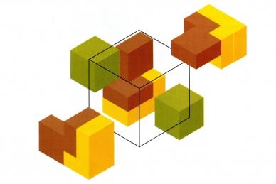 Головоломка Гала-куб. Решение задачи 1