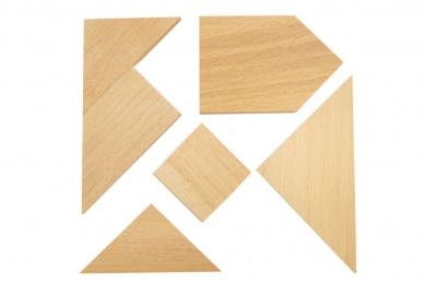 Головоломка из дерева Два квадрата