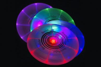 Красивый диск для фрисби светодиодный Dog Discuit Nite Ize