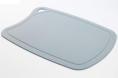 Доска разделочная 380x250x2 мм (серая) Biomaid