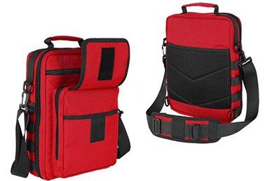 EDC-сумка Honu City (RC красно-черная) Kiwidition