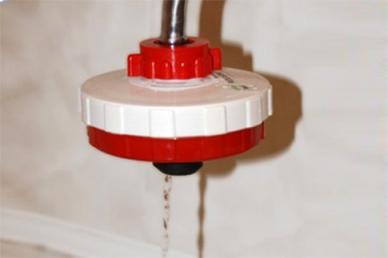Фильтр «Мечта» на водопроводном кране