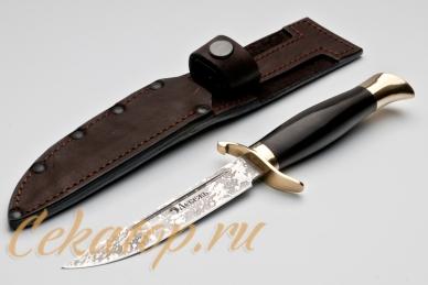 Нож и ножны Финка НКВД СССР (сталь Х12МФ) Лебежь
