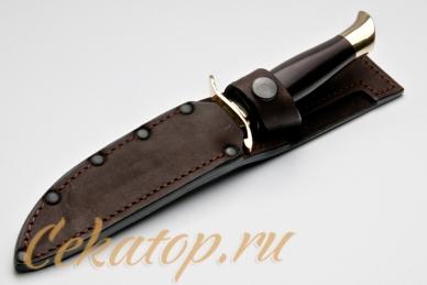 Финка НКВД СССР (сталь Х12МФ) Лебежь, ножны