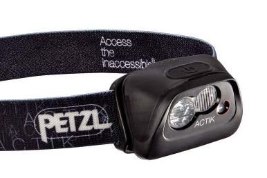 Фонарь налобный ACTIK CORE (black) Petzl