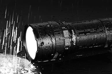 Фонарь светодиодный Fenix FD65 (3800 люмен)