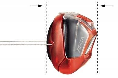 Фонарь налобный Petzl ZIPKA (красный)